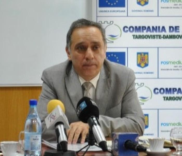 Preţul actual al apei – generat de un contract de finanţare semnat în 2010, susţine directorul companiei de Apă Târgovişte-Dâmboviţa