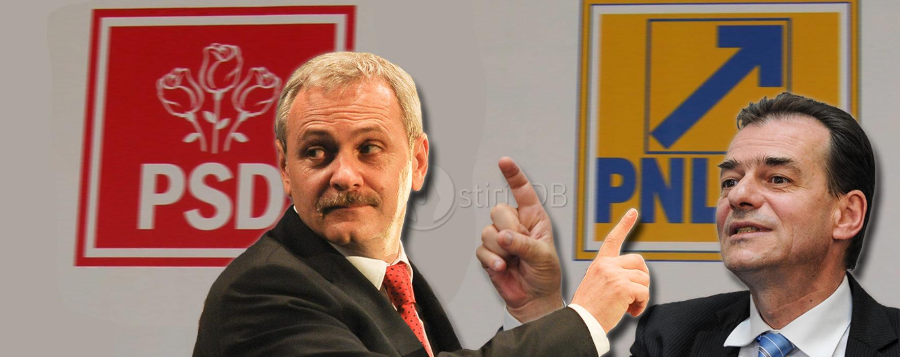 Liviu Dragnea îl trimite pe Ludovic Orban la spitalul de nebuni