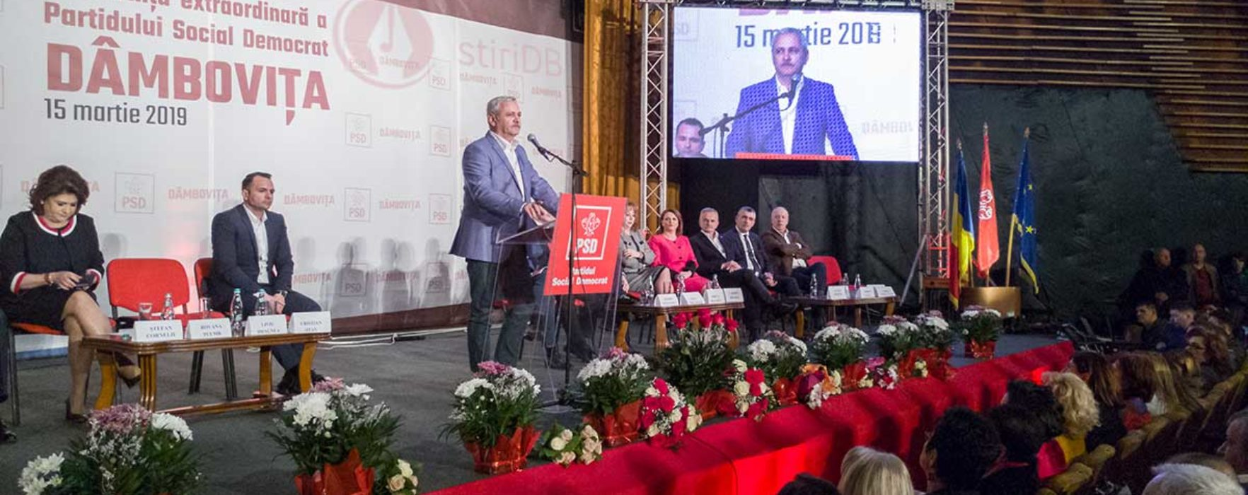 Primarii PSD din Dâmboviţa i-au cerut lui Dragnea să candideze la preşedinţia României