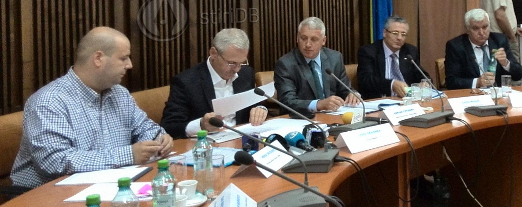 Dragnea, la Târgovişte: Să nu creadă cineva că dacă intră în PSD va primi avantaje