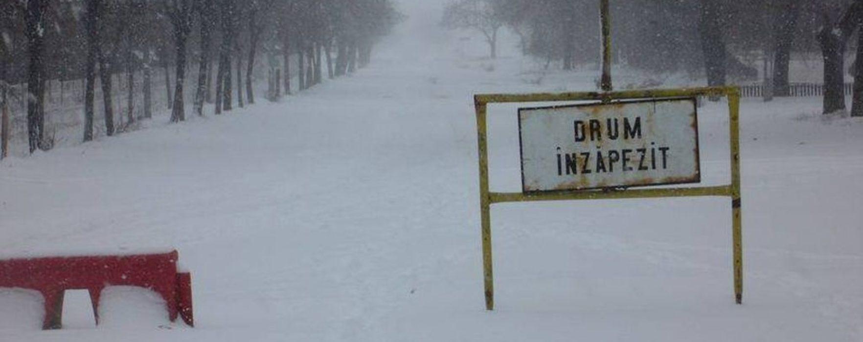 Alte două drumuri judeţene din Dâmboviţa au fost închise
