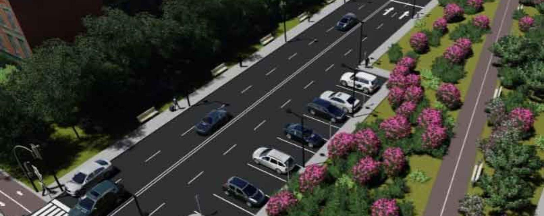 Târgovişte: Drum largit si pista de biciclete catre zona UM Gara