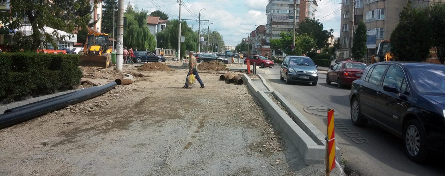 Târgovişte: Lucrările pe IC Brătianu, întârziate