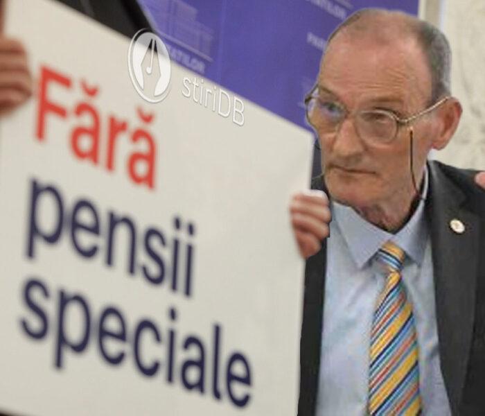 Ipocrizie. Fost parlamentar USR de Dâmboviţa, beneficiar de două pensii speciale