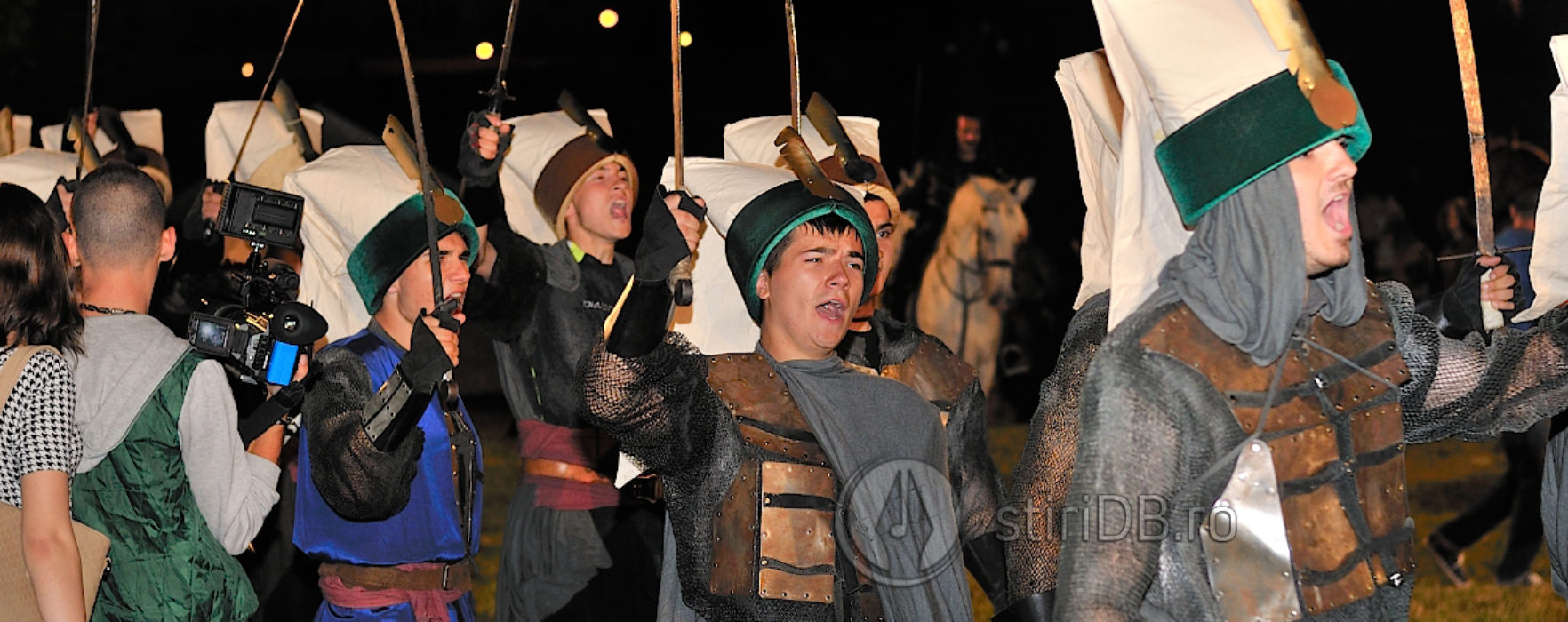 Paradă medievală la Târgovişte (foto)