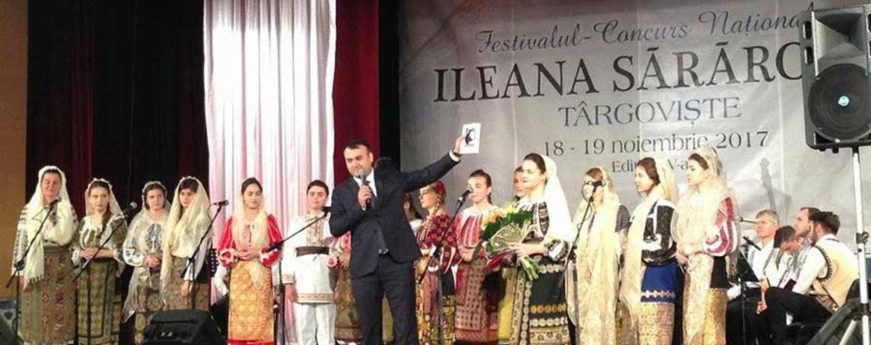 """Dâmboviţa: A început Festivalul """"Ileana Sărăroiu"""""""
