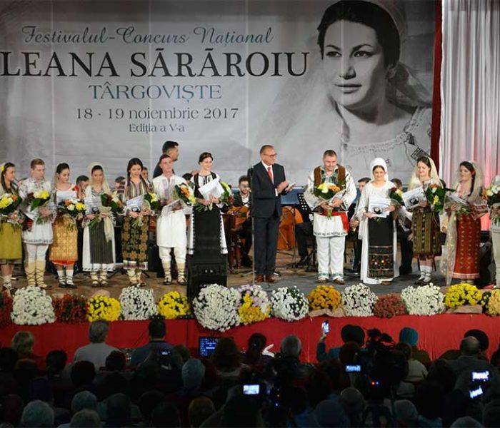"""Târgovişte: Festivalul """"Ileana Sărăroiu"""", în perioada 23-24 noiembrie"""