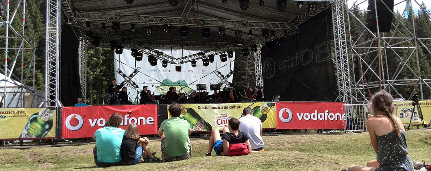 Concert al Filarmonicii Muntenia, la Padina Fest