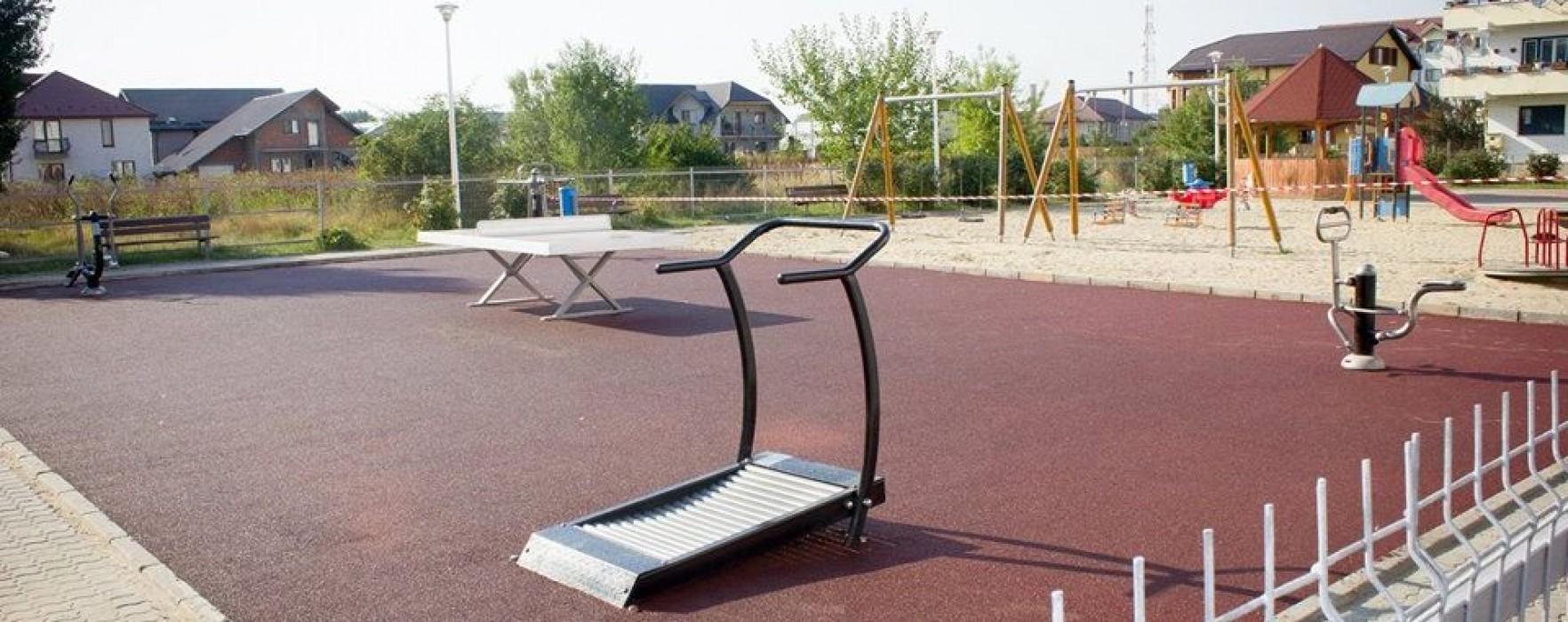 Titu: Aparate de fitness în aer liber, montate în oraş