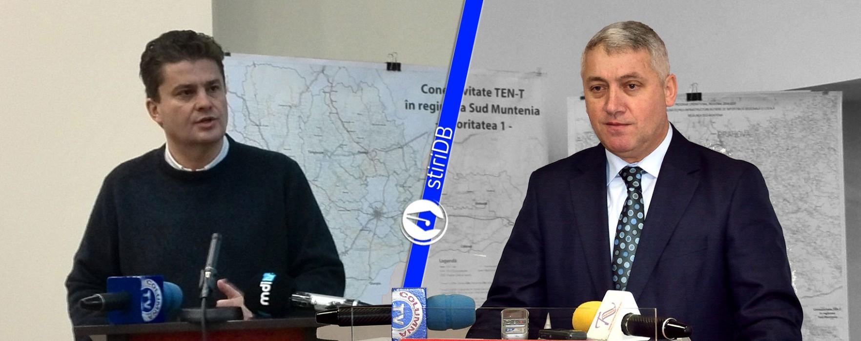 Schimb de amabilităţi între Adrian Ţuţuianu şi Florin Popescu (audio)