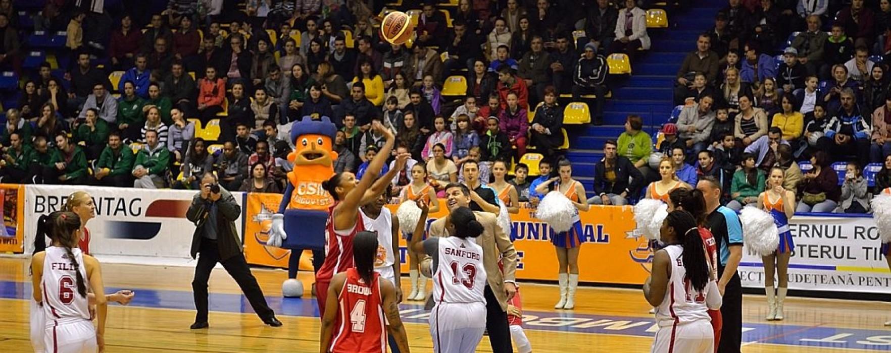 Sud-Nord, scor 68-61, în All Star Game la baschet feminin de la Târgovişte (video)