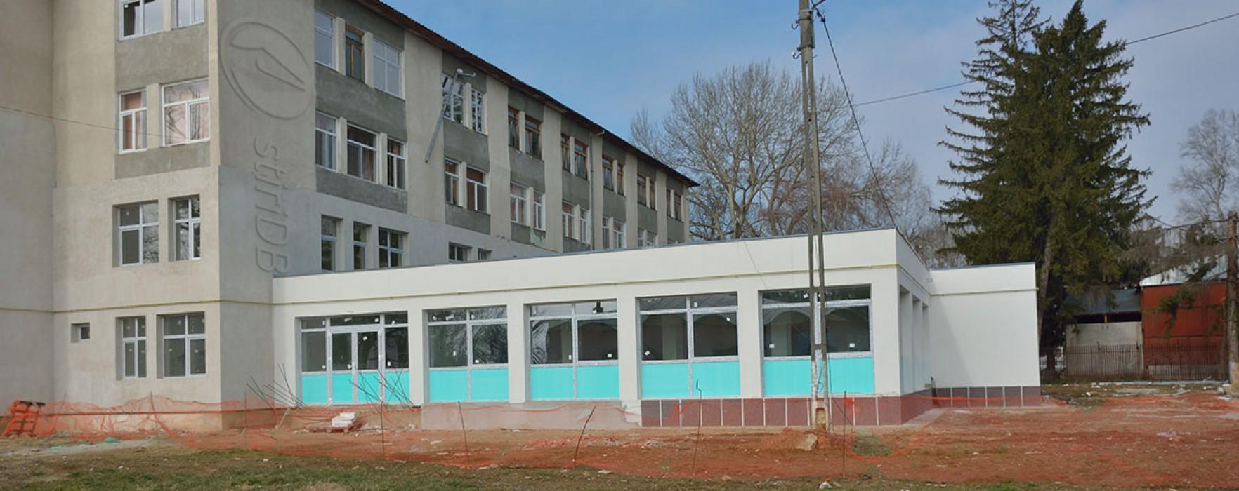 Centrul Social Găeşti, modernizat cu bani europeni