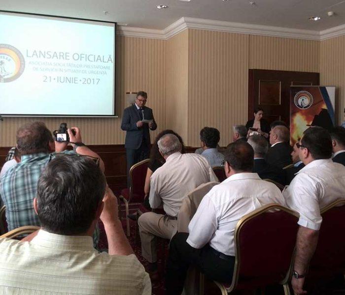S-a înfiinţat Asociaţia Societăţilor Prestatoare de Servicii în Situaţii de Urgenţă, preşedinte este Georgică Dumitru