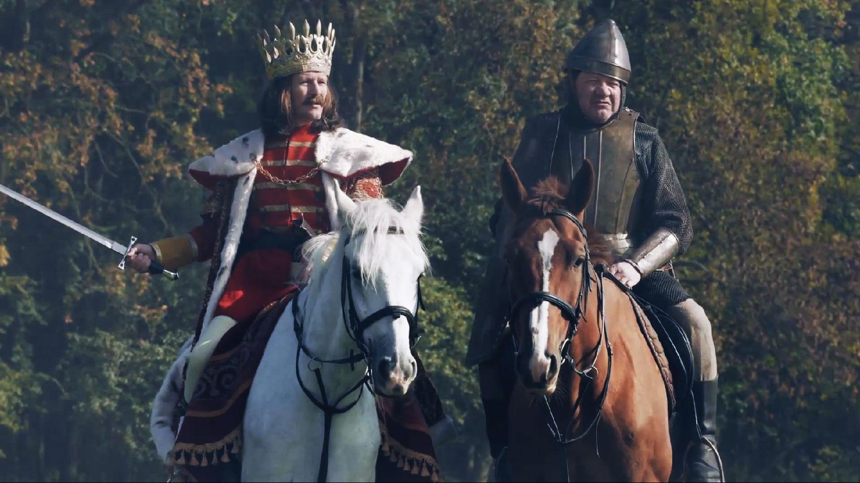 Actorul târgoviștean George Buică (foto dreapta)