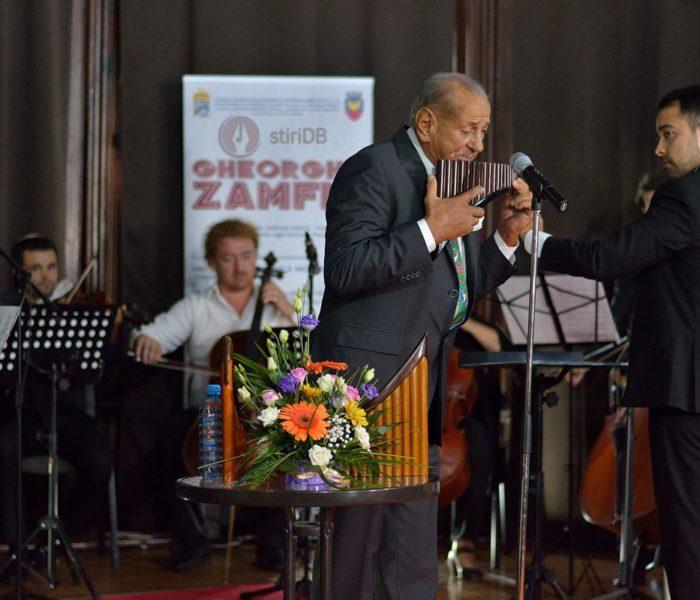 """Festivalul internațional de nai """"Gheorghe Zamfir"""" a debutat cu un recital al marelui artist"""