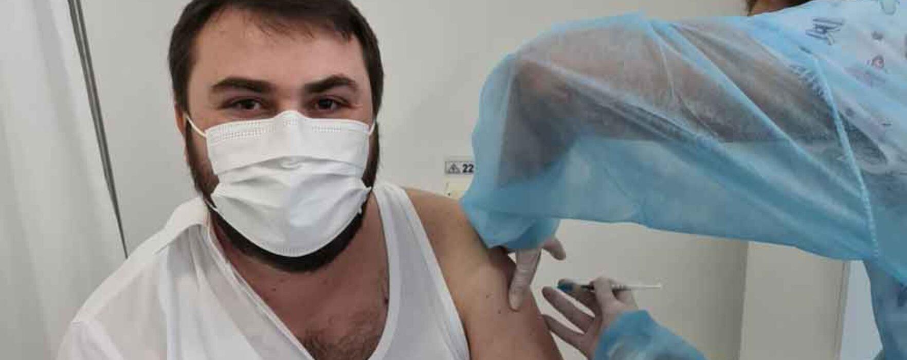 Preşedintele Crucii Roşii Dâmboviţa, Ionuț Ghibanu: M-am vaccinat, nu am ezitat!