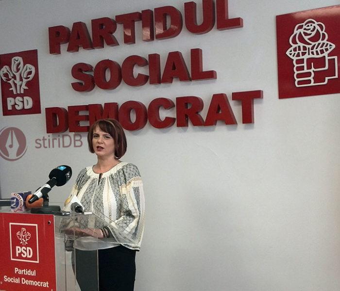 Claudia Gilia (PSD Dâmboviţa): Ministrul Justiţiei va analiza modul în care au acţionat şefa DNA şi procurorul şef