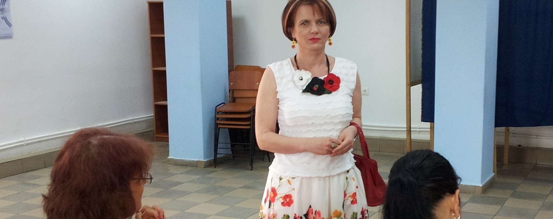 Claudia Gilia, candidat PSD la PE: Am votat pentru o Românie demnă în Parlamentul European