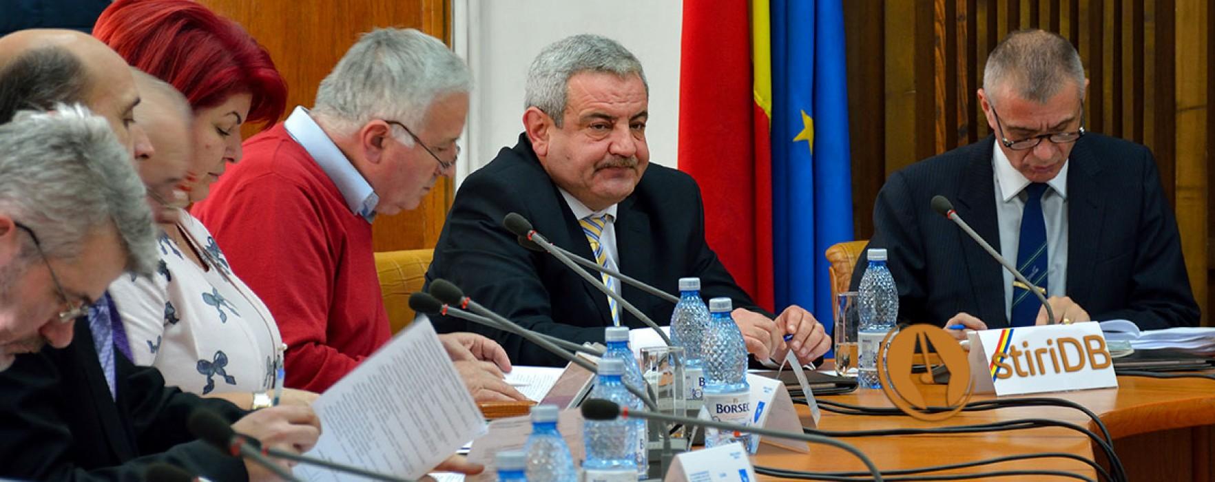 Gabriel Grozavu a pierdut funcţia de vicepreşedinte al CJ Dâmboviţa