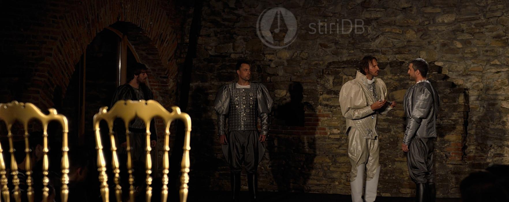 """""""Hamlet"""" nu se mai joacă, joi, pe ruinele Curţii Domneşti, din cauza ploii"""