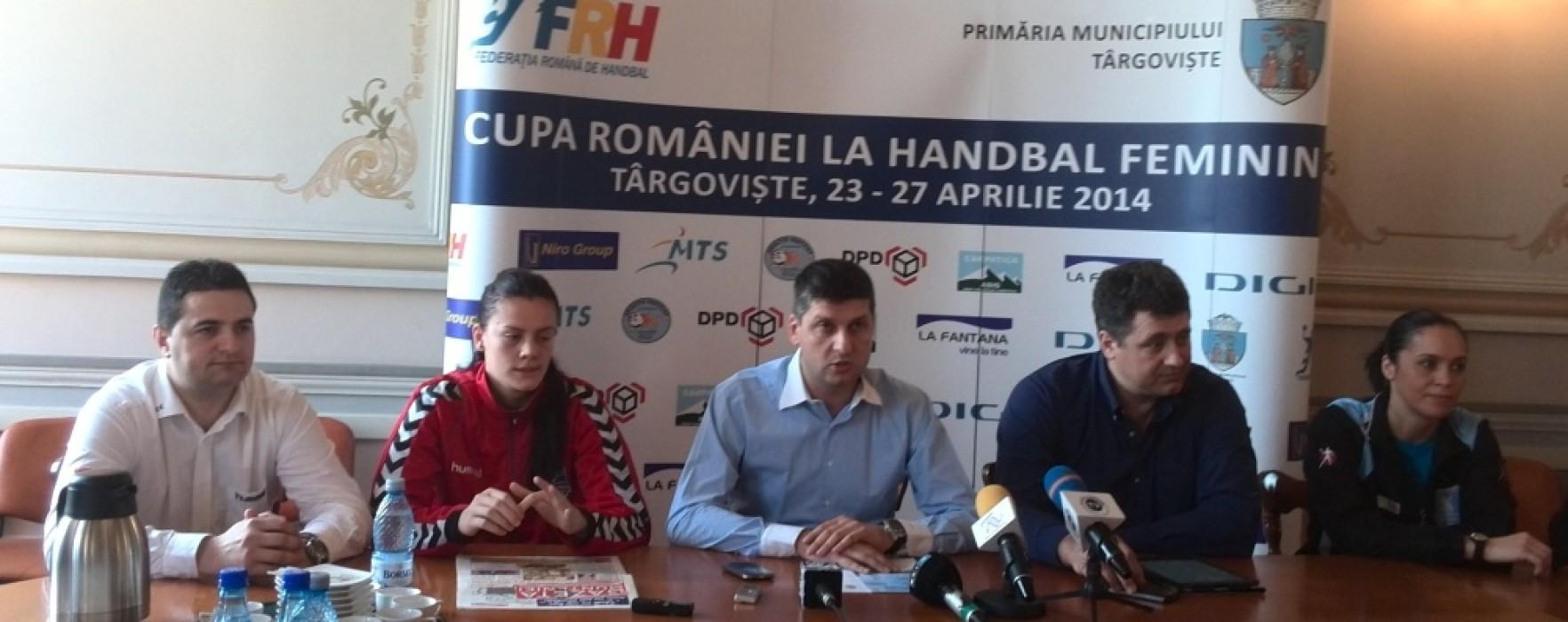Cupa României la handbal feminin a debutat la Târgovişte; vezi programul