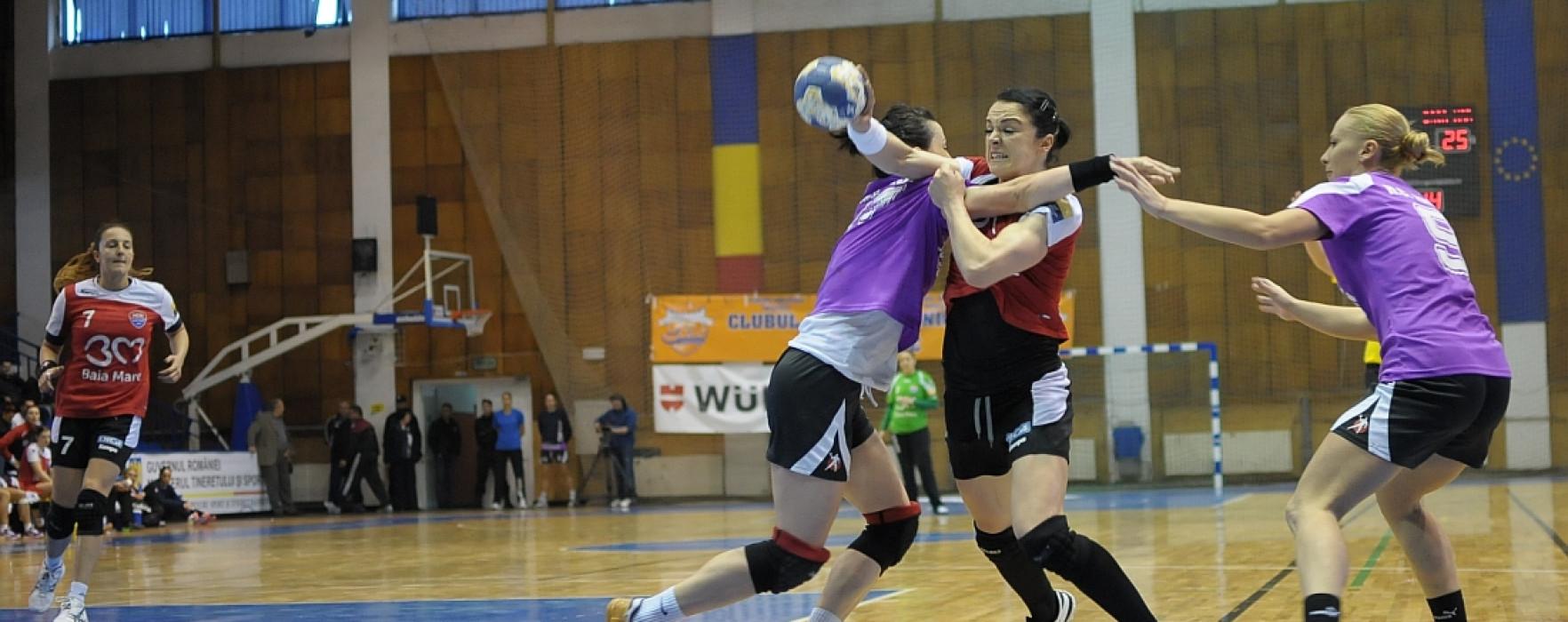 Derby de foc in semifinalele Cupei Romaniei la handbal feminin