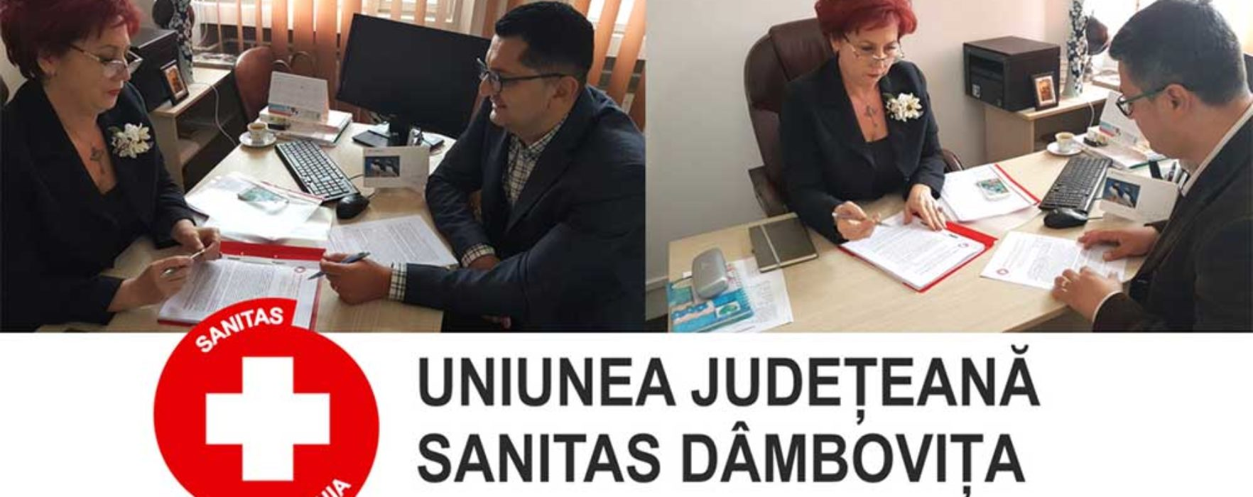 Dâmbovița: Deputat Carmen Holban, întâlnire cu reprezentanți Sanitas la nivel județean