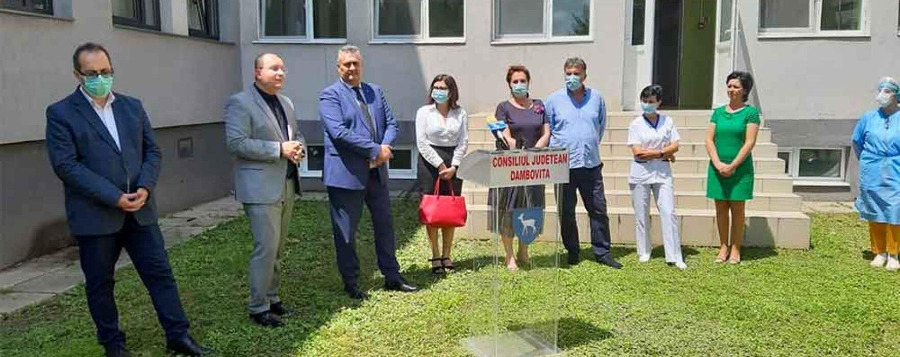 Carmen Holban, deputat PSD: Spitalul Judeţean Târgovişte, dotat cu tomograf şi două aparate de radiologie