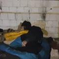 Târgovişte: Oamenii fără adăpost găsiţi de poliţiştii locali pe străzi au refuzat să meargă în centre sociale (video)