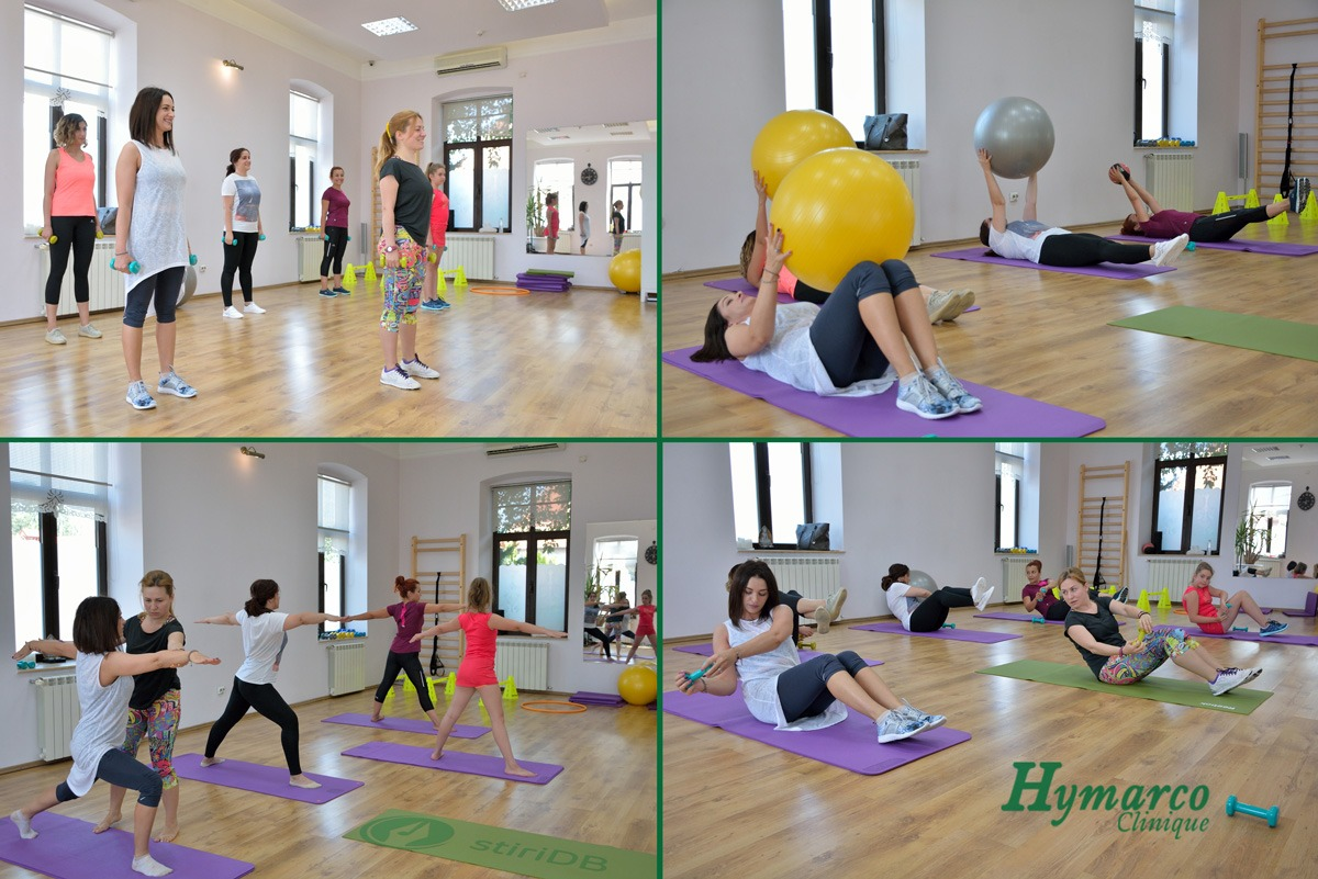 Hymarco Beauty Clinique Fitness Yoga Aerobic mingi