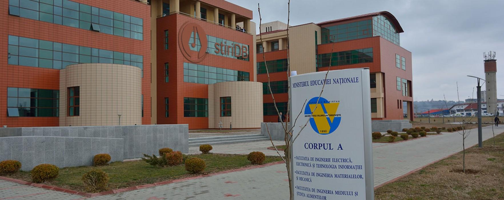 Admitere Universitatea Valahia, peste 2.200 de locuri; vezi oferta educaţională