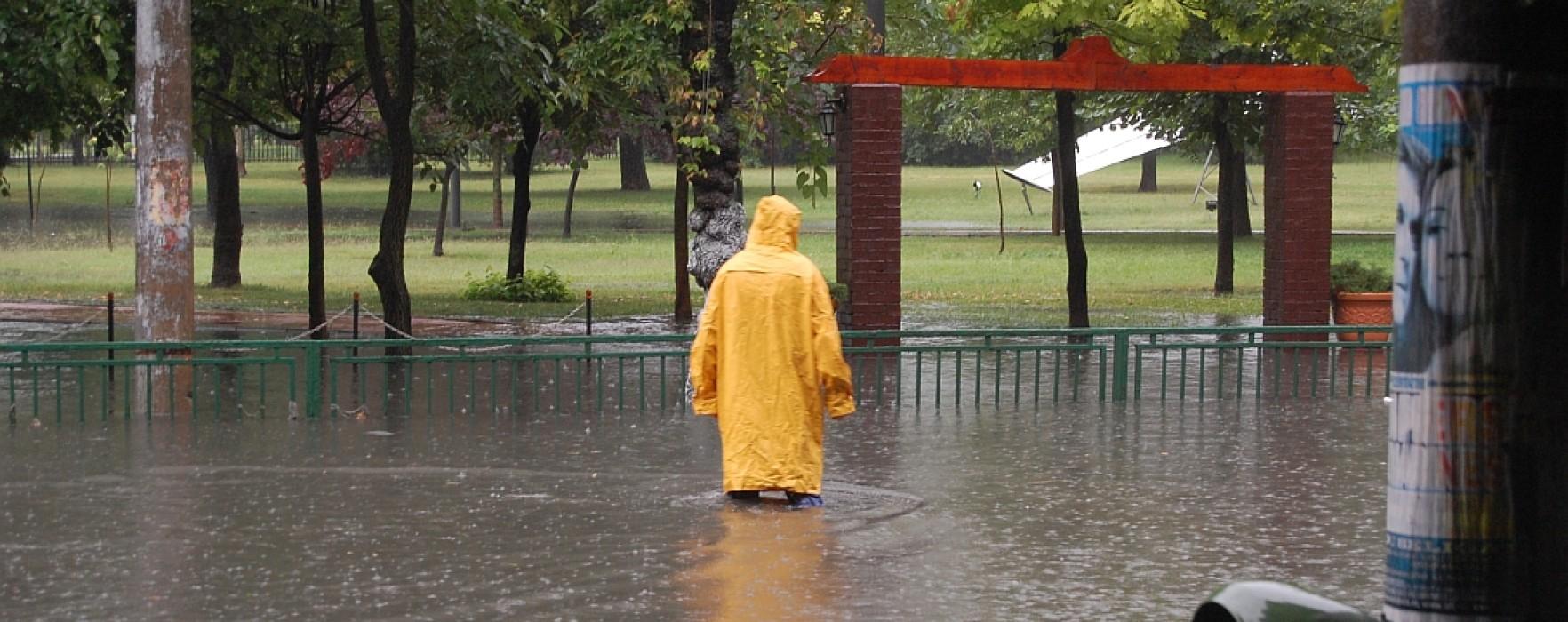 Pagube produse de inundaţii în Dâmboviţa