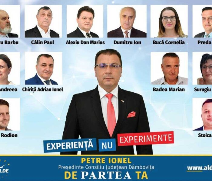 Ionel Petre, ALDE – candidat la CJ Dâmboviţa: Votul cetățenilor este înainte de toate un vot de încredere