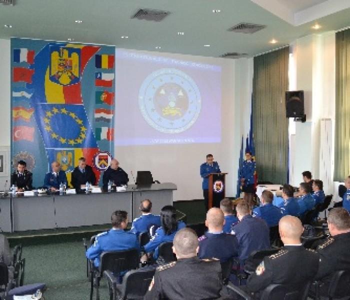 Exerciţiu internaţional de pregătire la Centrul de Perfecţionare a Pregătirii Cadrelor Jandarmi de la Ochiuri