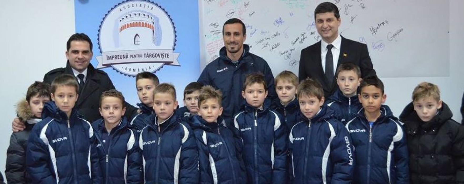 Clubul Sportiv Kinder Târgovişte, donaţii pentru salvarea lui Cezar