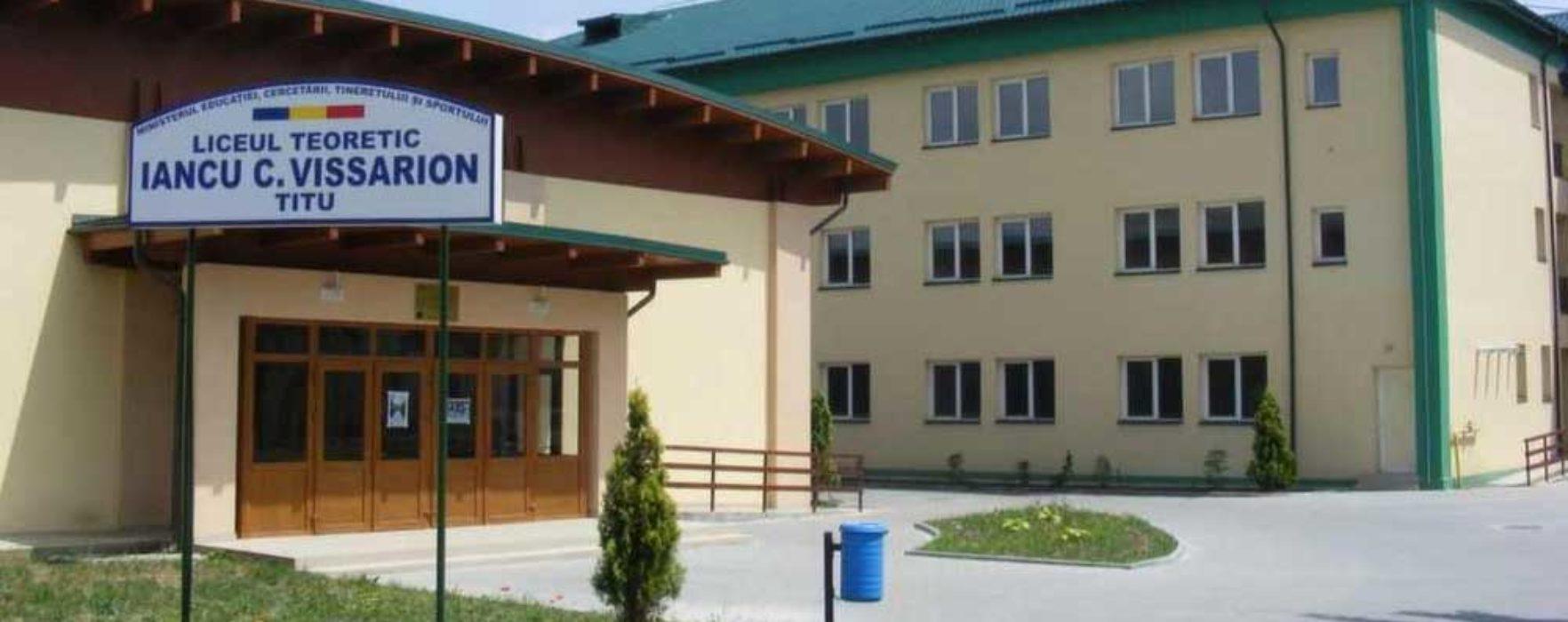 Titu: Proiect european de reabilitare a Liceului I.C Vissarion, depus de Primaria Titu