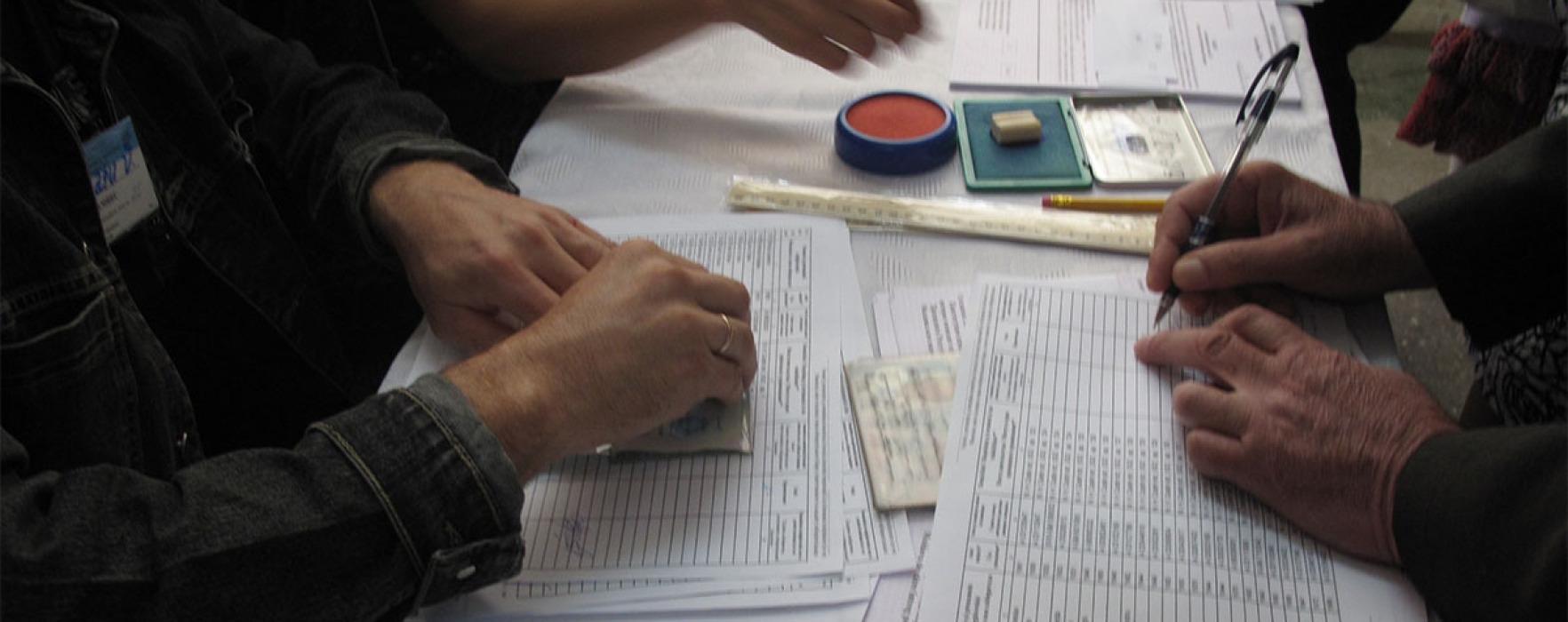 Dâmboviţa: ora 16.00 – Cele mai multe voturi pe liste suplimentare, în secţii din Crevedia