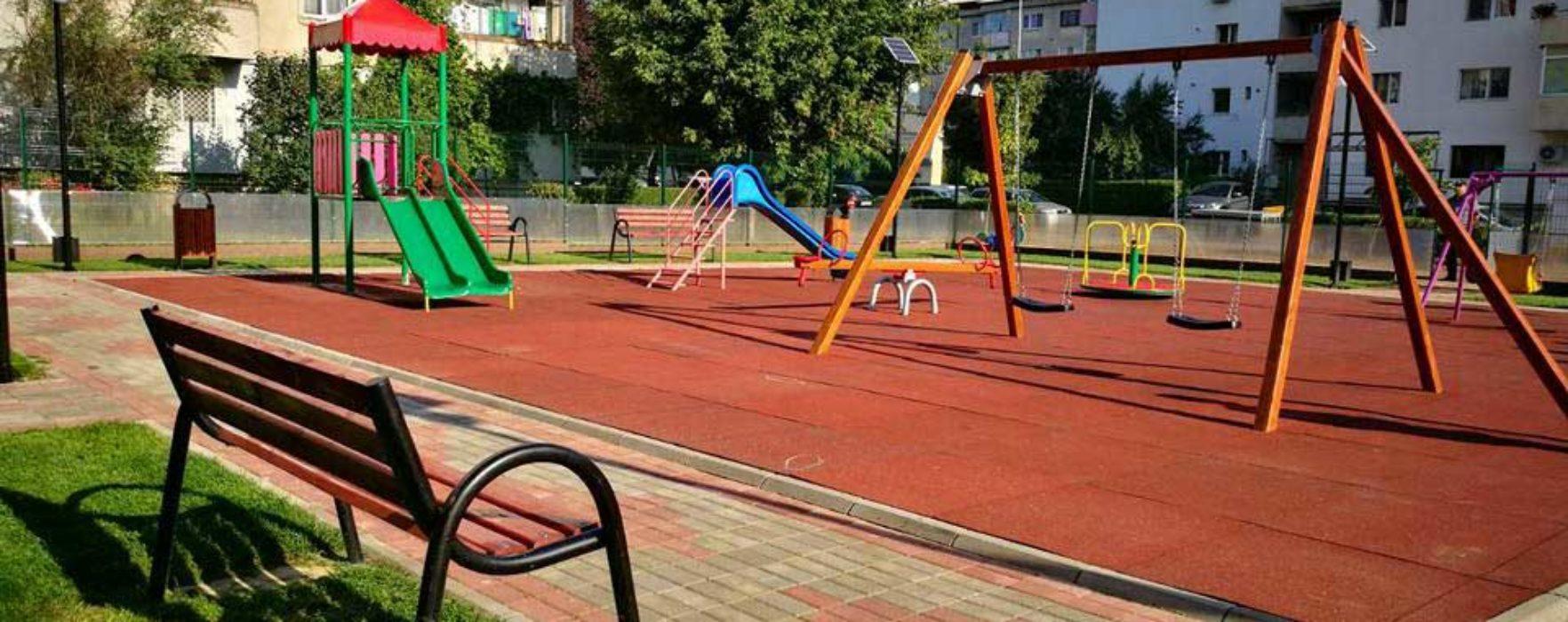 Târgovişte: Loc nou de joacă în cartierul CFR