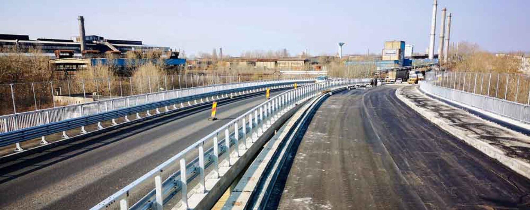 Târgovişte: Stadiul lucrărilor la șoseaua de centură (martie 2021)