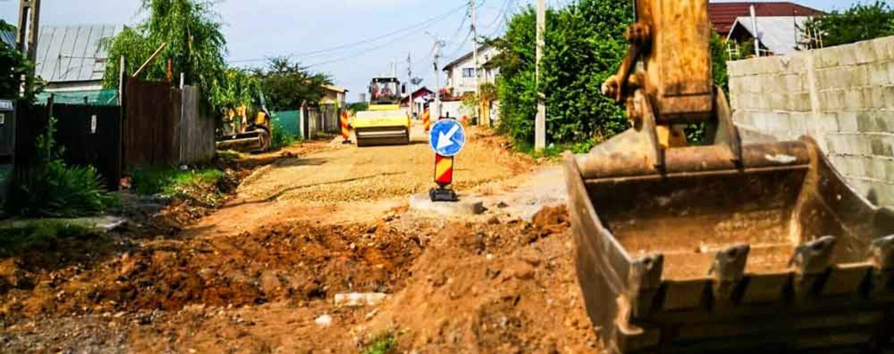 Târgovişte: Lucrări de modernizare a infrastructurii în Prepeleac