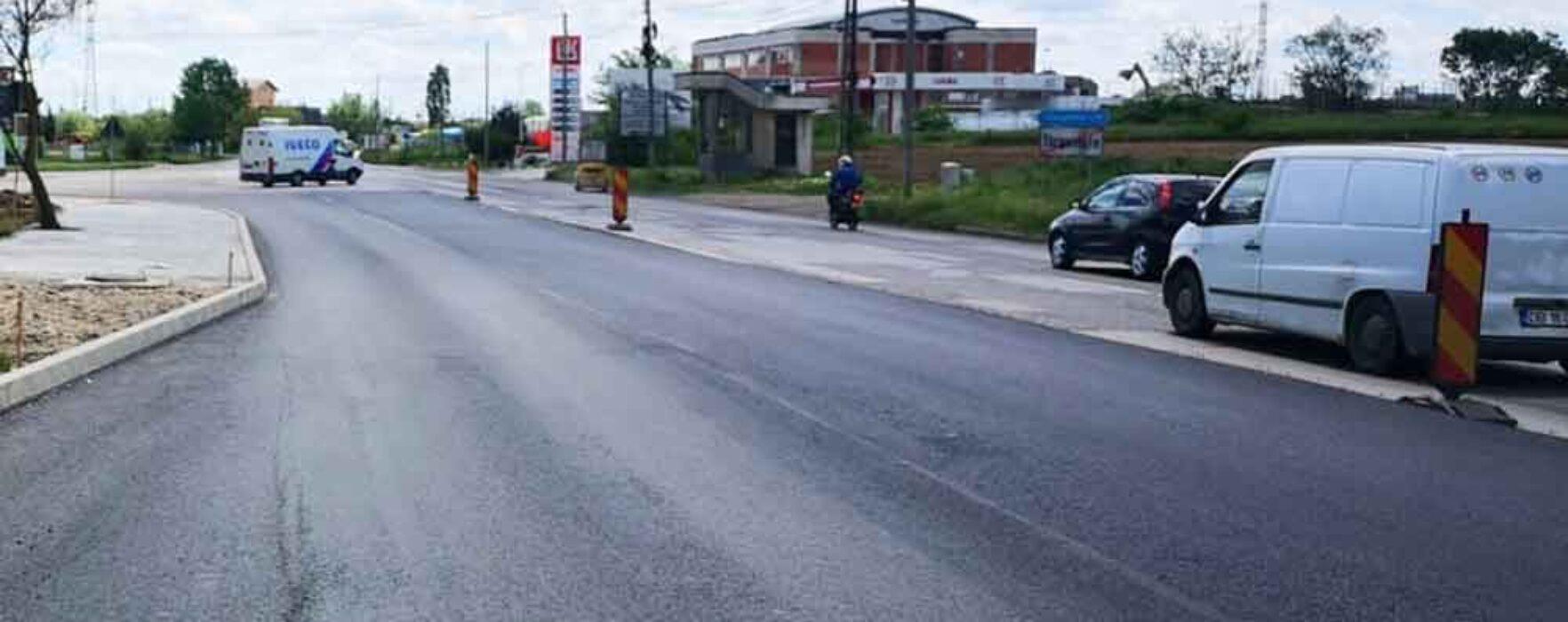 Târgovişte: Lucrări de reabilitare pe Şoseaua Găeşti