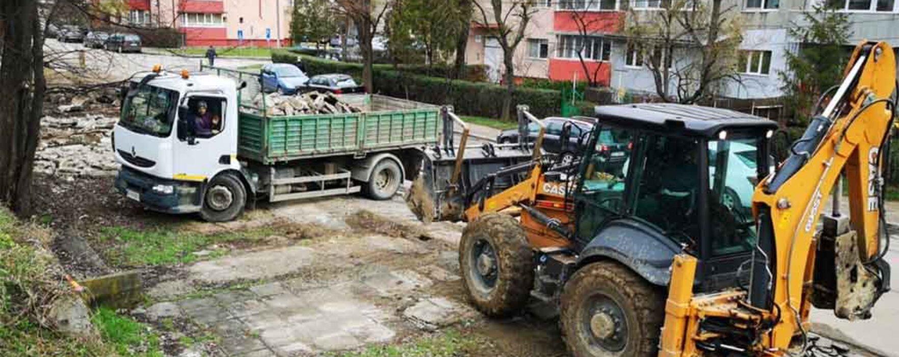 Târgovişte: Drum lărgit și pistă de biciclete către zona UM Gara și Dâmbovița Mall