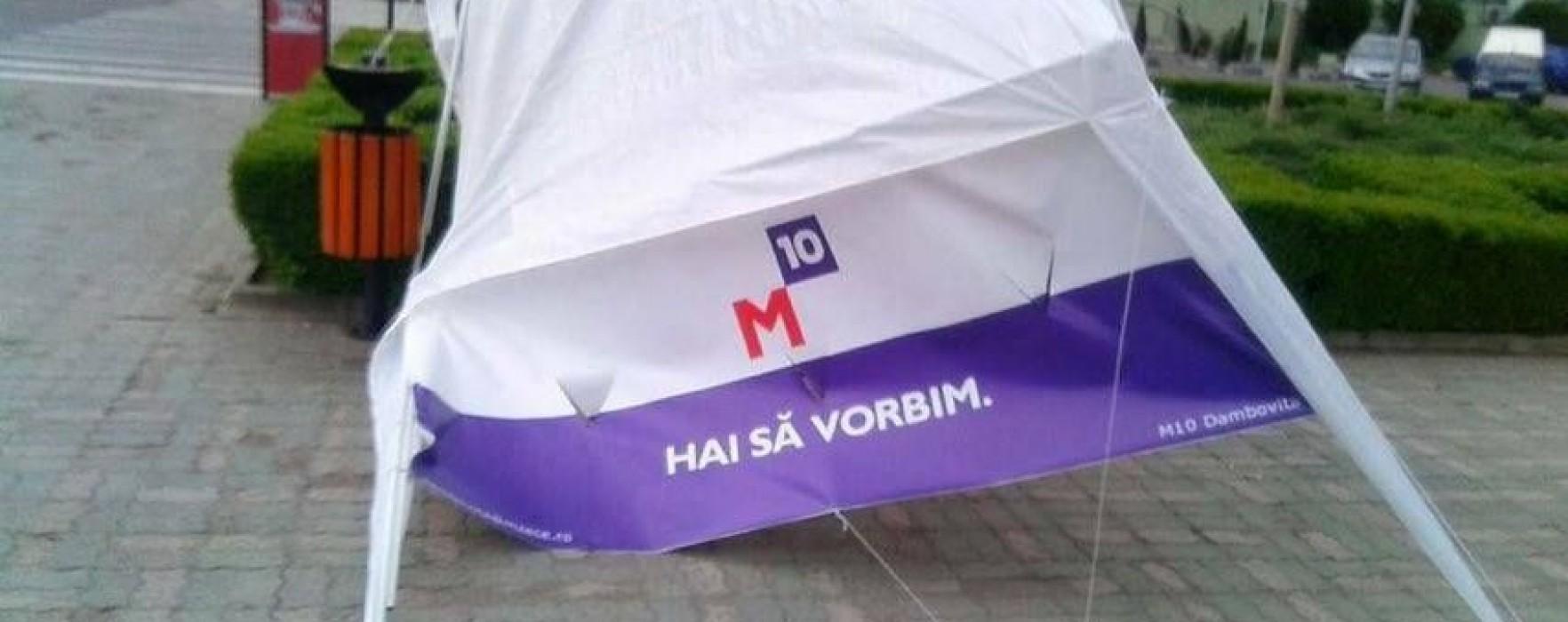 M10 Dâmboviţa anunţă că nu a strâns numărul necesar de semnături pentru depunerea candidaturilor