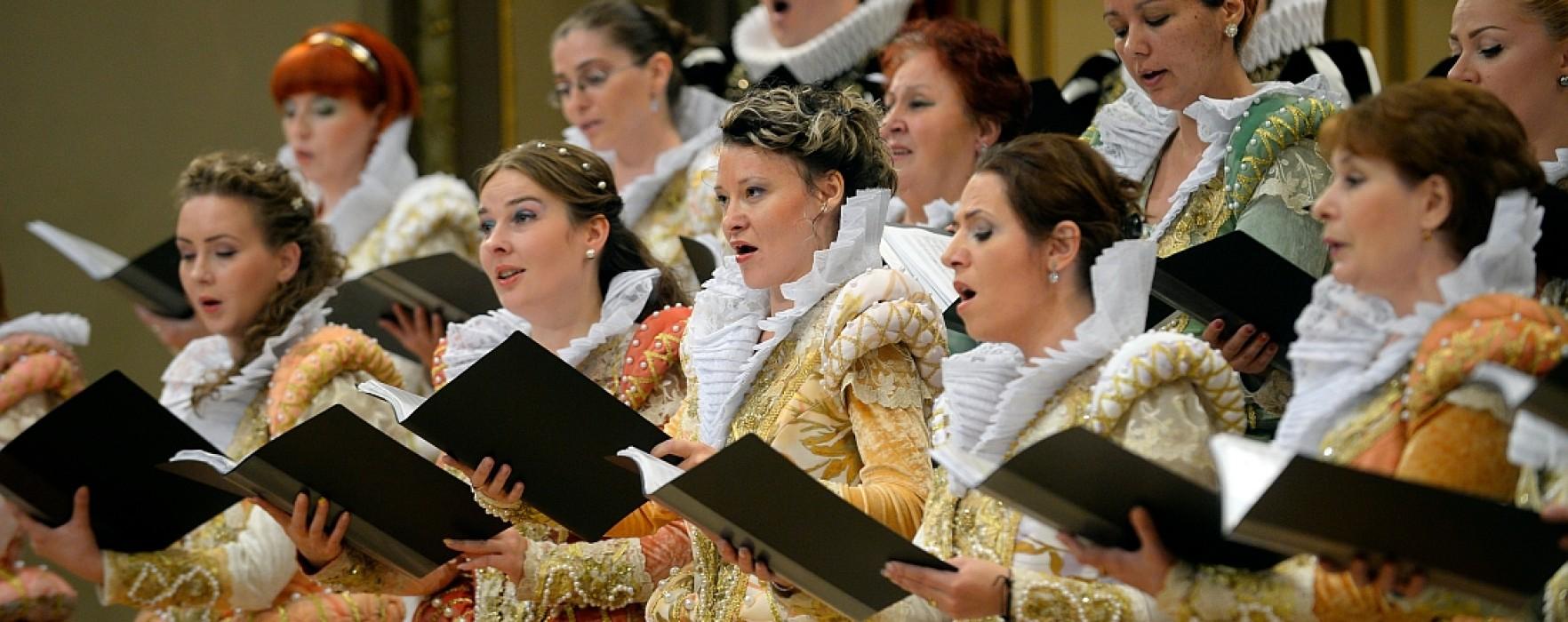 Concert Madrigal la Curtea Domnească Târgovişte