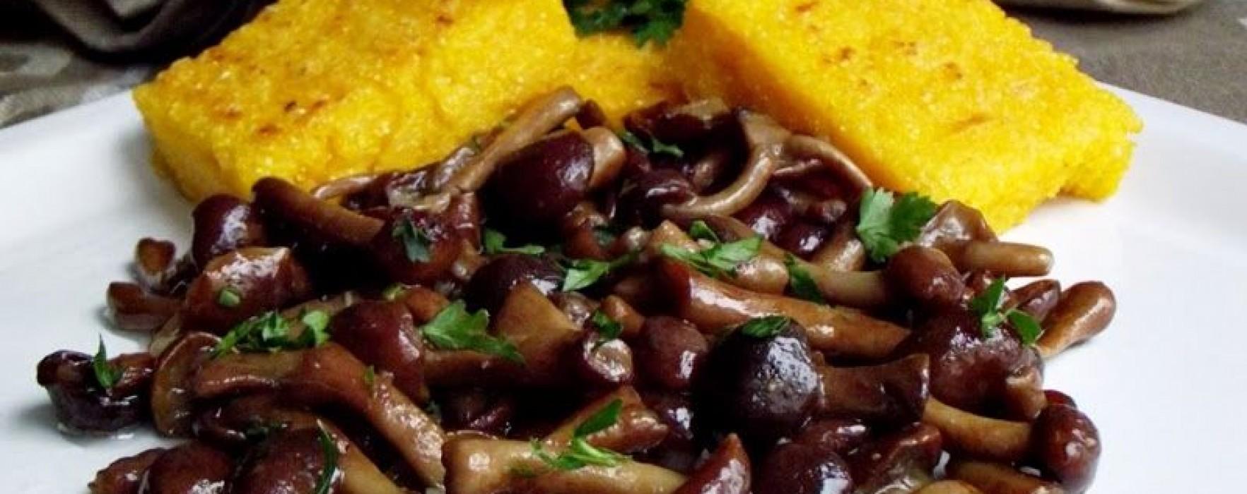 Citeşte cu poftă! – Ghebe cu usturoi şi mămăligă pe grill
