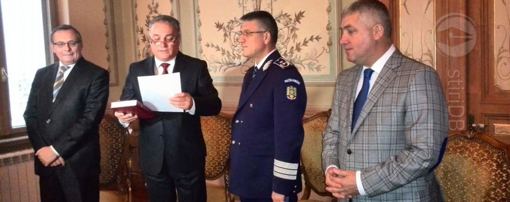 Ioan Marinescu, învestit în funcţia de prefect de Dâmboviţa