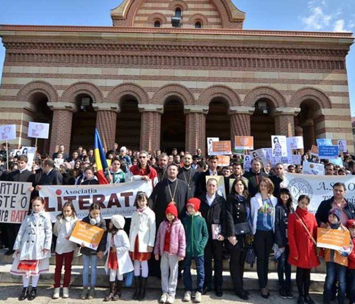 Dâmboviţa: Arhiepiscopia Târgoviştei anunţă, pentru 25 martie, un marş împotriva avortului