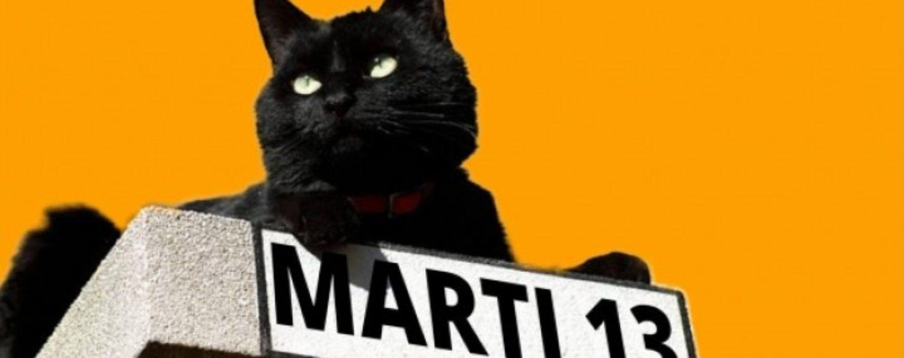 Marţi 13, pisica neagră: Ghinionul poate fi prevenit