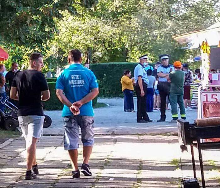 Târgovişte: Masca de protecţie este obligatorie în Parcul Chindia