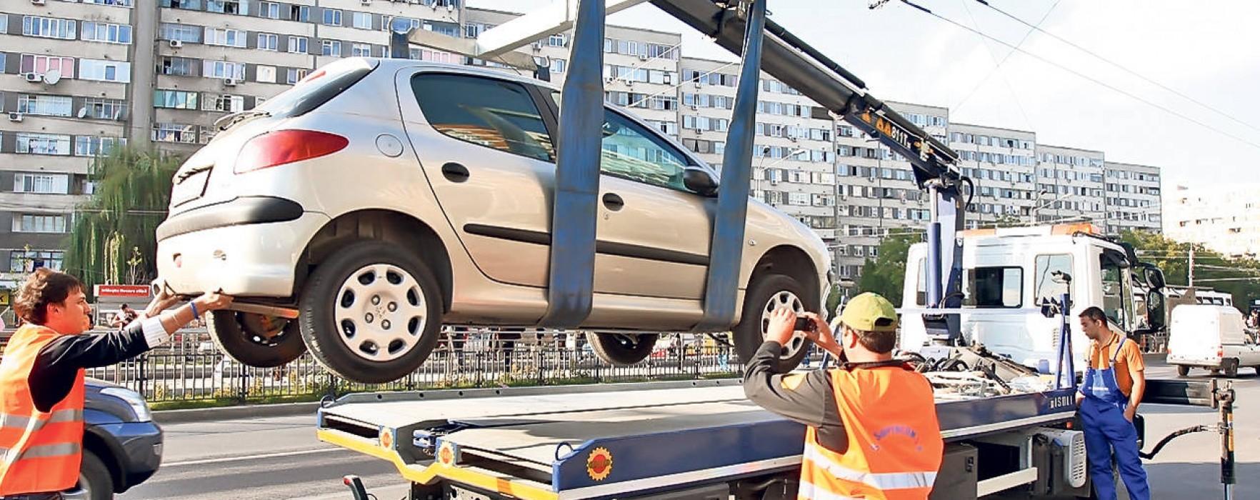 ÎCCJ: Consiliile locale nu au competența să reglementeze procedura de ridicare a mașinilor